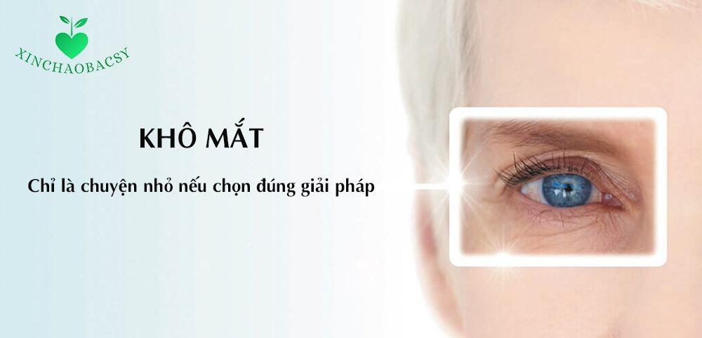 Bí quyết chữa khô mắt mạn tính – áp dụng nhanh trước khi quá muộn!